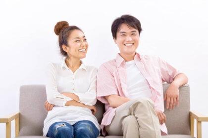 夫婦の家庭でのワンシーン|山形モデルネット
