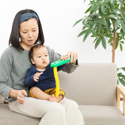 一歳になったばかりの赤ちゃんとママの新人親子モデル|山形モデルネット