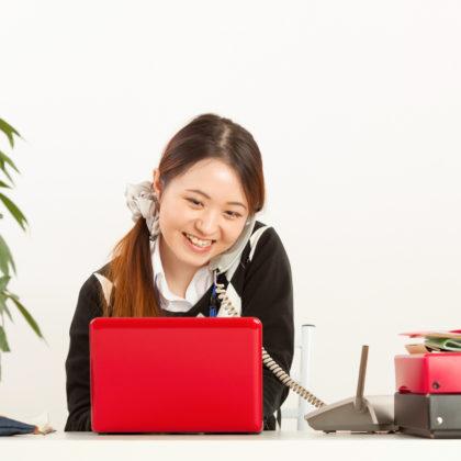 働く女性のビジネスシーン 山形モデルネット