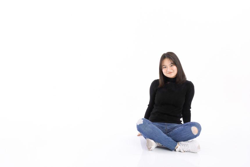 フィリピン出身の可愛らしい女子校生