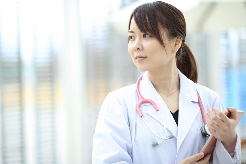 医療系イメージで広告写真撮影 山形モデルネット